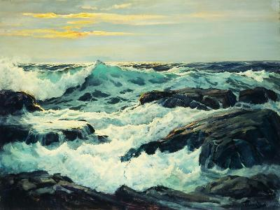 Surf and Headlands-Frederick Judd		 Waugh-Premium Giclee Print