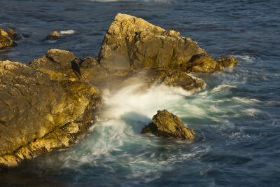 Surf and Rocks, Rocky Creek Area, Big Sur, California, USA-Michel Hersen-Photographic Print