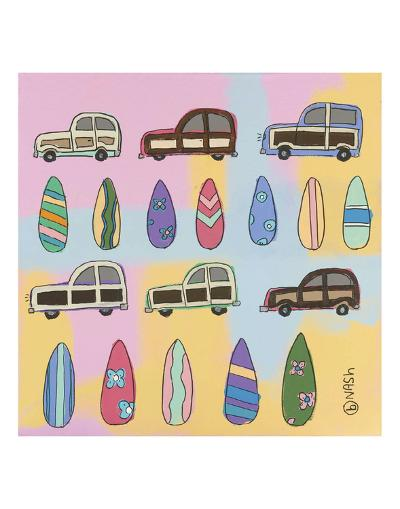 Surf and Turf-Brian Nash-Art Print
