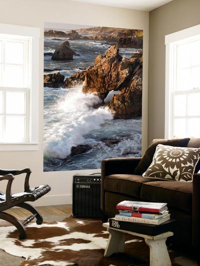 Surf at Soberanes-Douglas Steakley-Giant Art Print