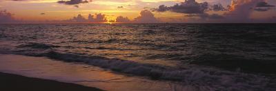 Surf at Sunrise, Miami Beach, FL-Jeff Greenberg-Photographic Print