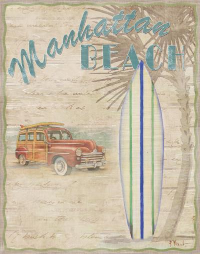 Surf City II-Paul Brent-Art Print