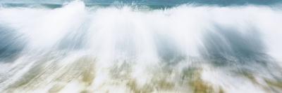 Surf Fountains Big Makena Beach Maui HI USA--Photographic Print