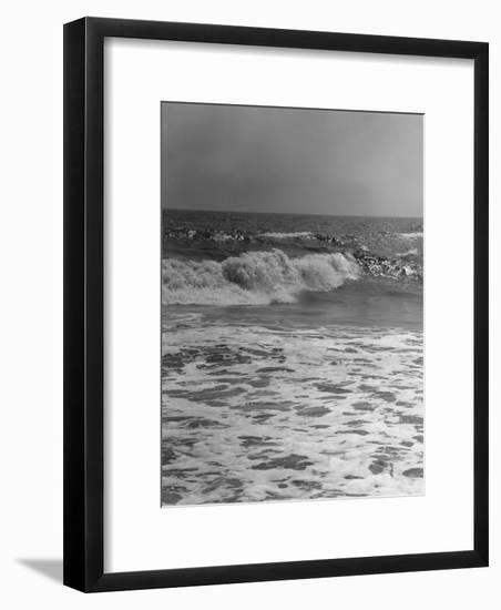 Surf on Beach-George Marks-Framed Photographic Print