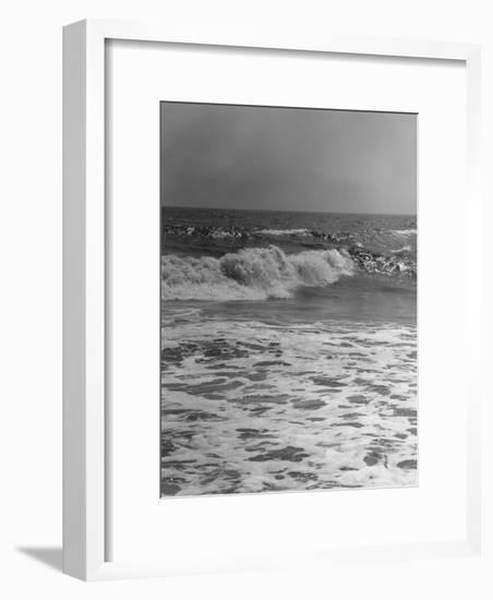 Surf on Beach-George Marks-Framed Photographic Print