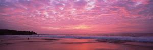 Surf on the Beach at Sunset, Hapuna Beach, Kohala Coast, Hawaii, Usa