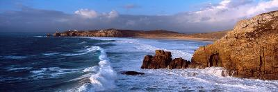 Surf on the Beach, Crozon Peninsula, Finistere, Brittany, France--Photographic Print