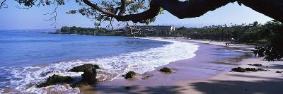 Surf on the Beach, Mauna Kea, Hawaii, Usa--Photographic Print