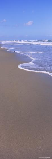 Surf on the Beach, Playlinda Beach, Canaveral National Seashore, Titusville, Florida, USA--Photographic Print