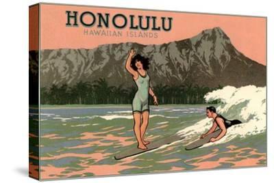 Surf Riders, Honolulu, Hawaii, Graphics