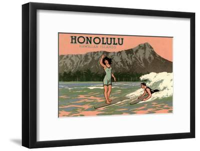 Surf Riders, Honolulu, Hawaii, Graphics