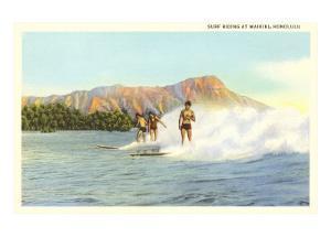 Surf Riders, Waikiki, Hawaii