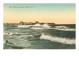 Surf Scene, Hampton Beach, New Hampshire