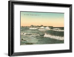 Surf Scene, Hampton Beach, New Hampshire