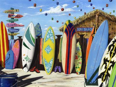 Surf Shack-Scott Westmoreland-Art Print