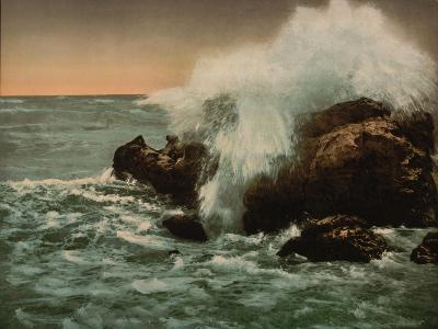Surf View, Ventimiglia, Riviera, C.1890-1900--Giclee Print