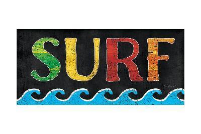 Surf-Jennifer Pugh-Art Print