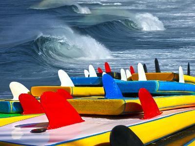 Surf-luiz rocha-Photographic Print