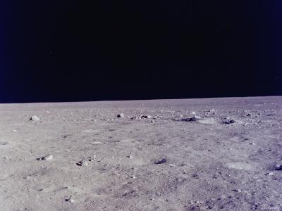 Surface of Moon as Seen from Window of Apollo 11 Lunar Module--Photographic Print
