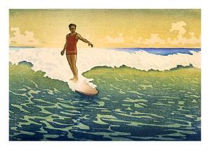 Surfer Coming In