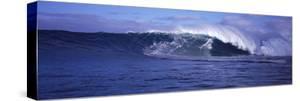 Surfer in the Ocean, Maui, Hawaii, USA