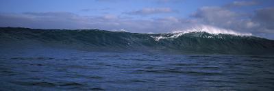 Surfer in the Sea, Maui, Hawaii, USA--Photographic Print