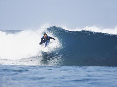 Surfer-Olivier Cadeaux-Photographic Print