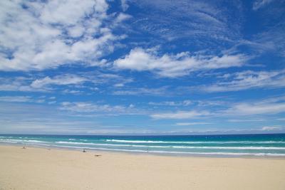 Surfers Paradise, Beach and Sky, Gold Coast, Queensland, Australia, Oceania-Frank Fell-Photographic Print