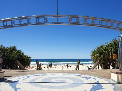 Surfers Paradise, Gold Coast, Queensland, Australia-David Wall-Photographic Print