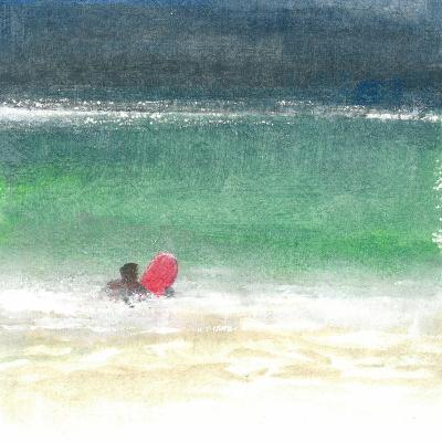 Surfing 2, Sri Lanka, 2015-Lincoln Seligman-Giclee Print