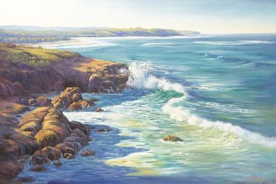 Surge of the Sea-John Bradley-Giclee Print
