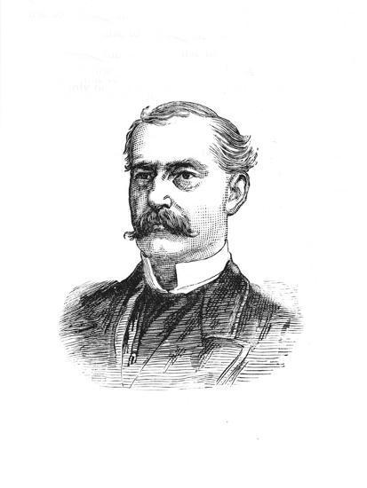 'Surgeon-General Hanbury', c1882-85-Unknown-Giclee Print