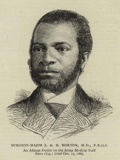 Surgeon-Major J A B Horton--Giclee Print