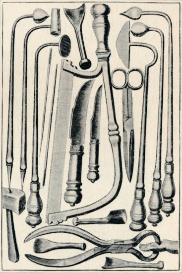 'Surgical Instruments', 1639, (1903)-Unknown-Giclee Print
