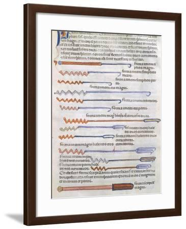 Surgical Instruments--Framed Giclee Print