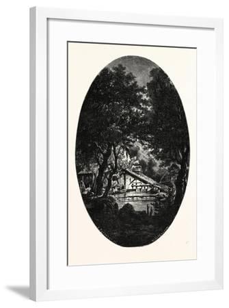 Surmont on the Bonze--Framed Giclee Print