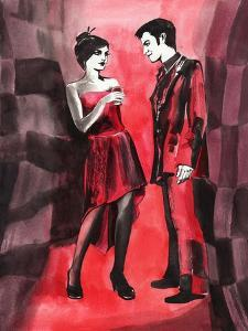 Red Couple by Surovtseva
