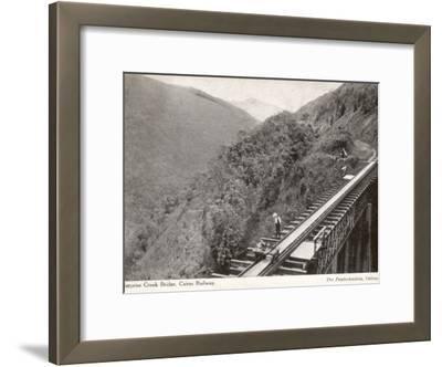 Surprise Creek Bridge on the Cairns Railway, Queensland, Australia, 1930s