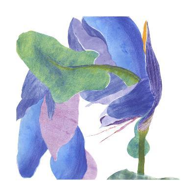 Surprise Indigo II-Carolyn Roth-Art Print