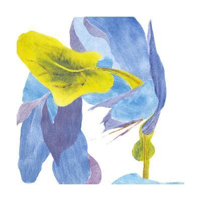 Surprise Indigo III-Carolyn Roth-Art Print