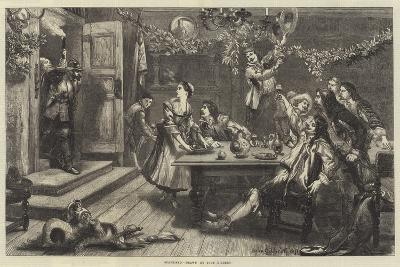 Surprised-Sir John Gilbert-Giclee Print