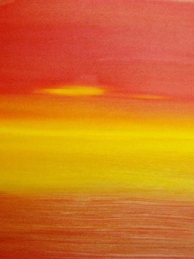 surreal sunset-Kenny Primmer-Art Print