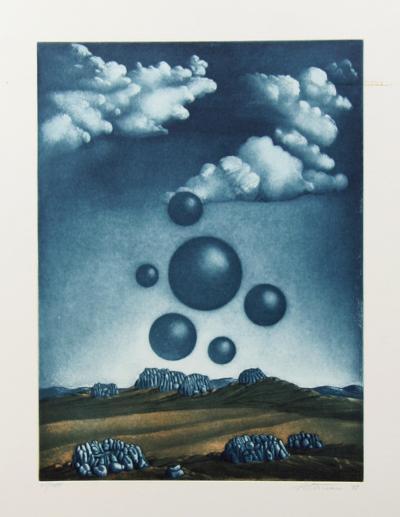 Surrealist Landscape 3-Kurt Schonen-Limited Edition