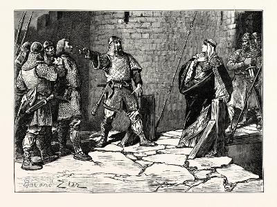 Surrender of Bamborough Castle--Giclee Print