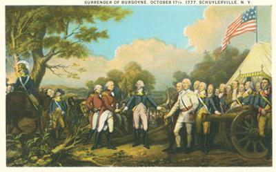 Surrender of Burgoyne, Revolutionary War
