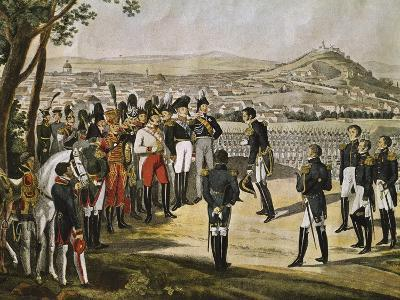 Surrender of City of Paris to Allies, March 31, 1814, Napoleonic Wars, France--Giclee Print