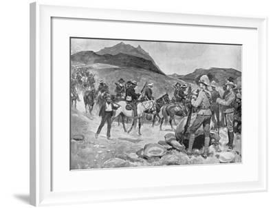 Surrender of General Prinsloo, July 30, 1900-Ernest Prater-Framed Giclee Print