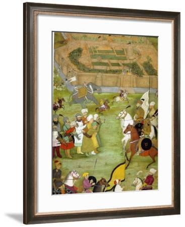 Surrender of Kandahar--Framed Art Print