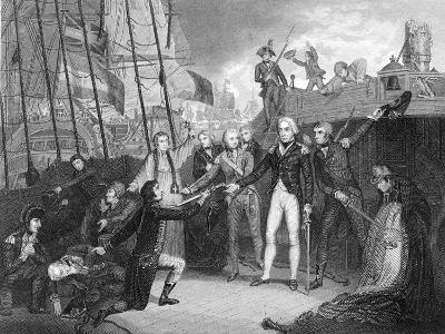 Surrender of the Spanish Ship 'San Josef' after the Battle of Cape St Vincent, 1797-Daniel Orme-Giclee Print