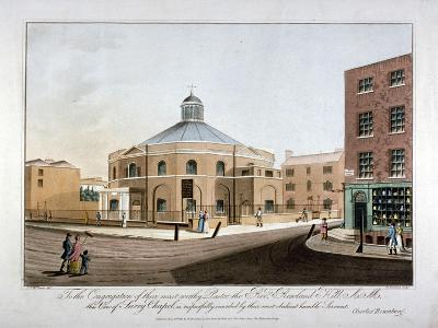 Surrey Chapel, Blackfriars Road, Southwark, London, 1816-C Rosenberg-Giclee Print